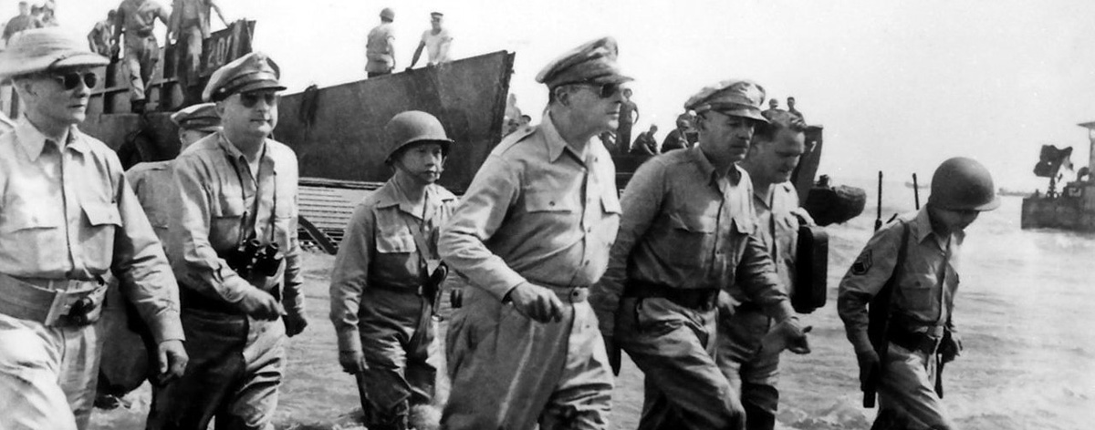 MacArthur and the battle for The Philippines