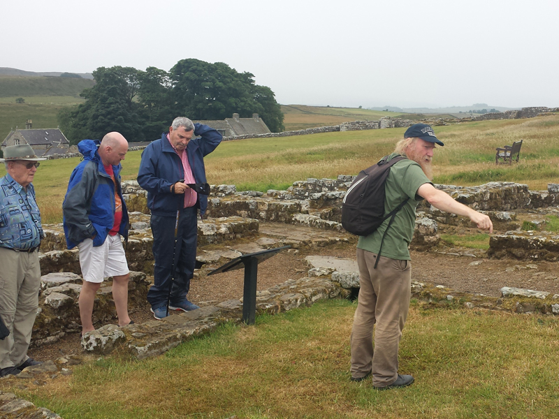 Hadrian S Wall Tour Images July 2018