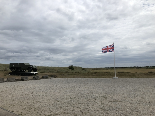 Path cleared for D-Day memorial to British Soldiers