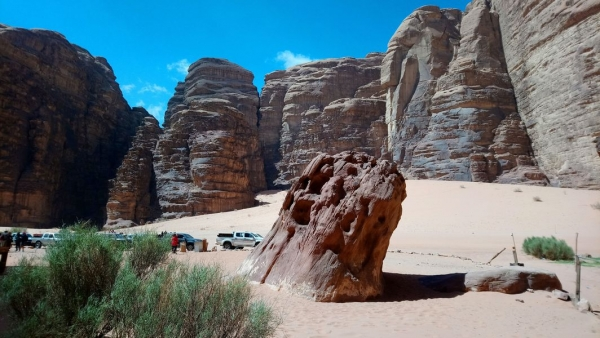 Could a study in the Wadi Rum save the Middle East's conflict damaged heritage?