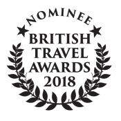 British Travel Awards Nominee 2018