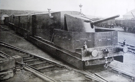 Last surviving WW1 armoured train rescued