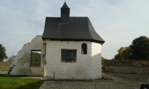The Chapel at Hougoumont