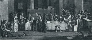 Prisoners at their tribunal