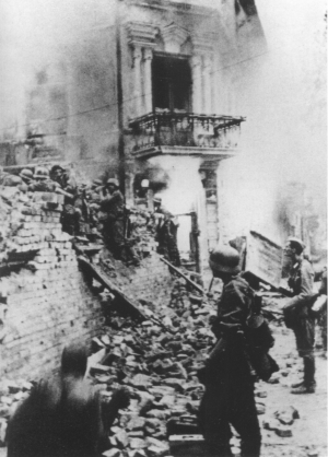 German Barricade Stalingrad