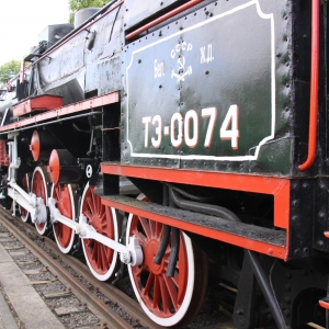 The atmospheric steam locomotive museum at Brest