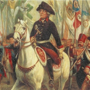 Frederick The Great in Silesia