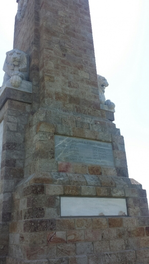 The memorial to the Battle of Doiran