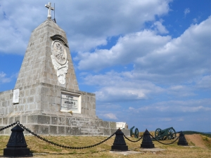 Shipka Pass Monument of the Russian emperor Alexander II