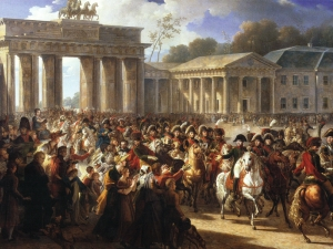 Napoleon enters Berlin 27th Oct 1806
