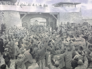 On May 5th 1945 the first US Army tanks reach Mauthausen