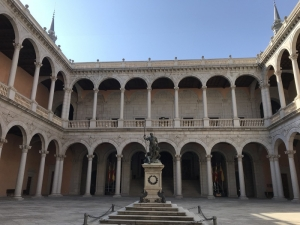 Courtyard in the centre of the Alcazar