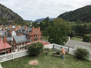 View over Harpers Ferry from the Harper House