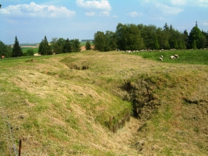 German front line, Beaumont Hamel