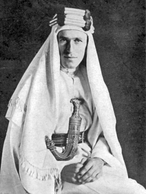 T.E Lawrence in 1919