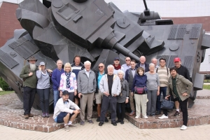 Our 2019 Tour Group - Prokhorovka Museum Kursk