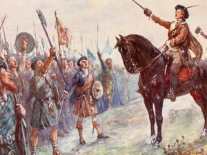Bonnie Prince Charlie on the Battlefield