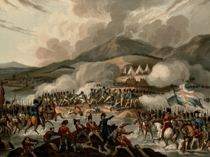 Battle of the Bidassoa, 9 October 1813.