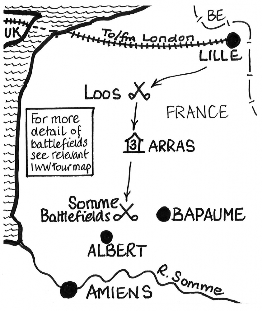 4 Day War Poets Historical Tour On The Western Front